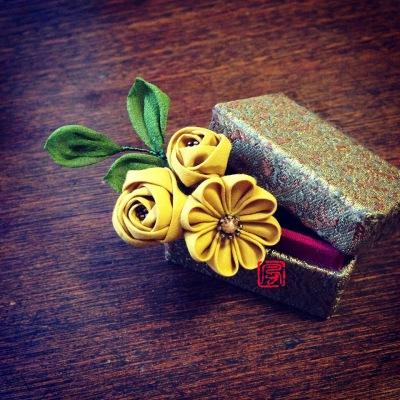 つまい細工黄色い花